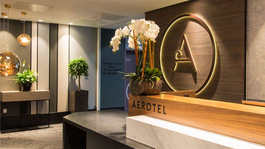 Aerotel hotel in London Heathrow Airport accomodation hotel stay