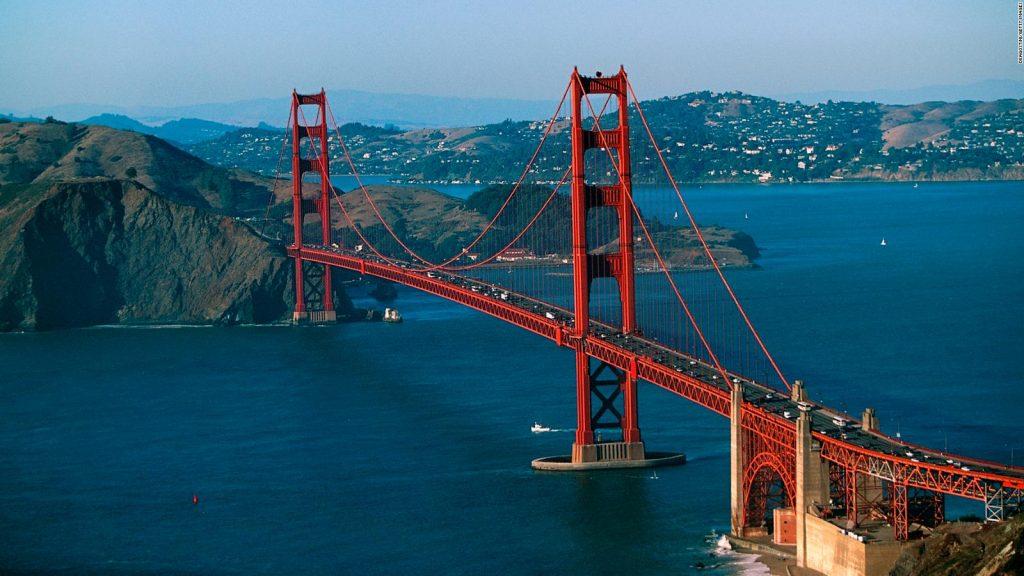 San Francisco bridge golden gate