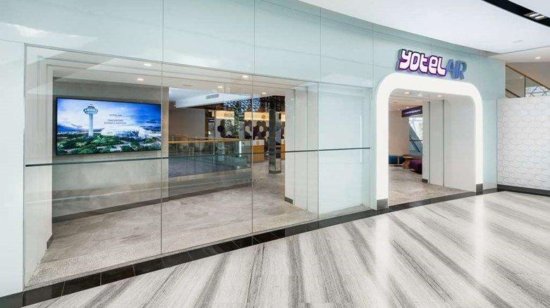 Yotelair Singapore Changi airport hotel