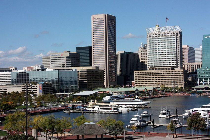 Maryland city Baltimore