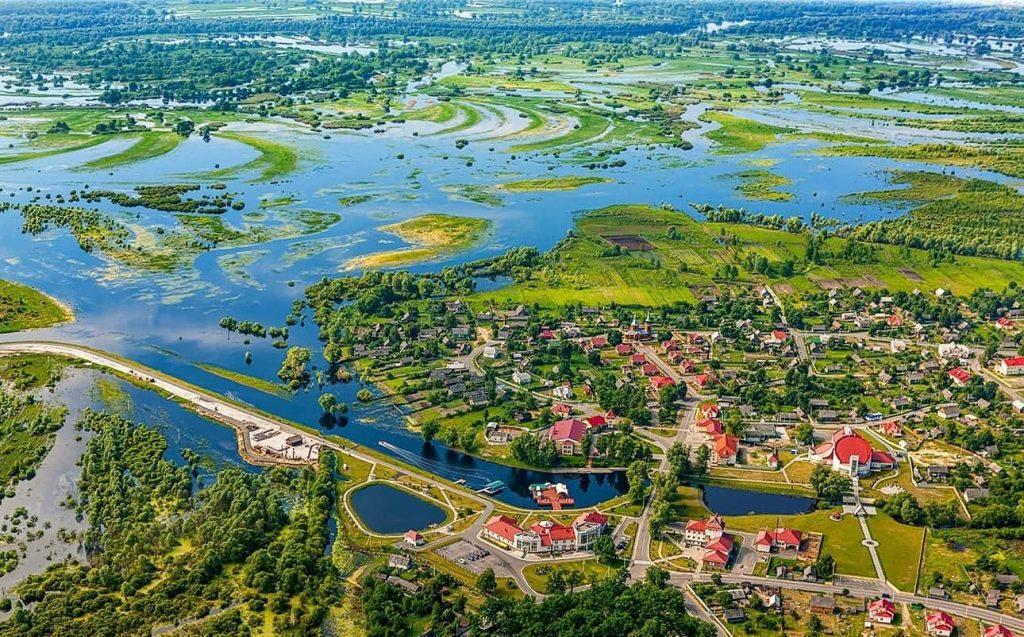 National Park Pripyatsky in Belarus