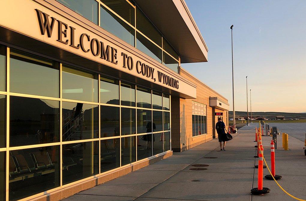 Cody Airport Yellowstone Wyoming
