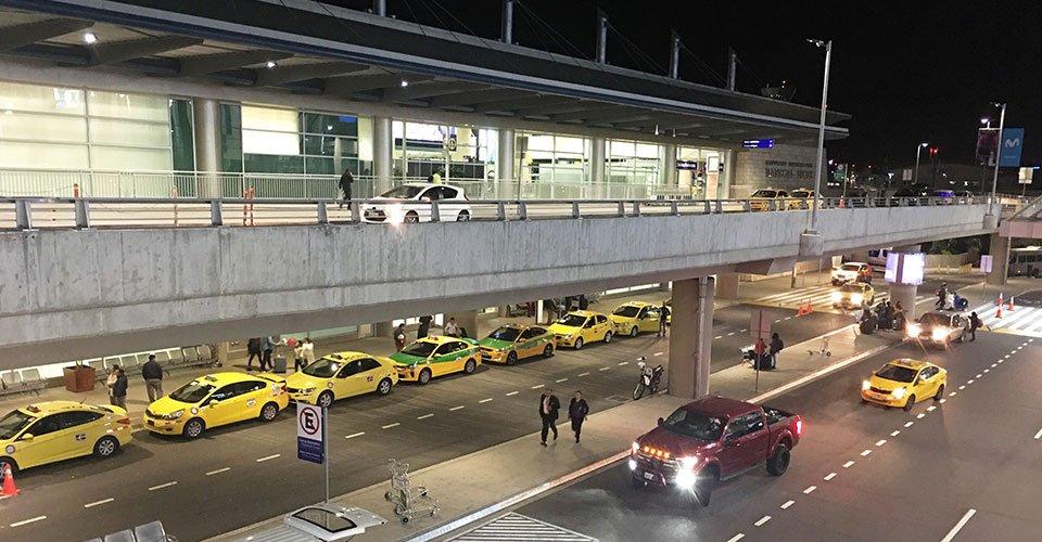 Quito Airport Ecuador