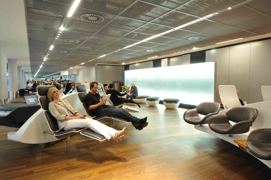 Frankfurt Airport in Europe