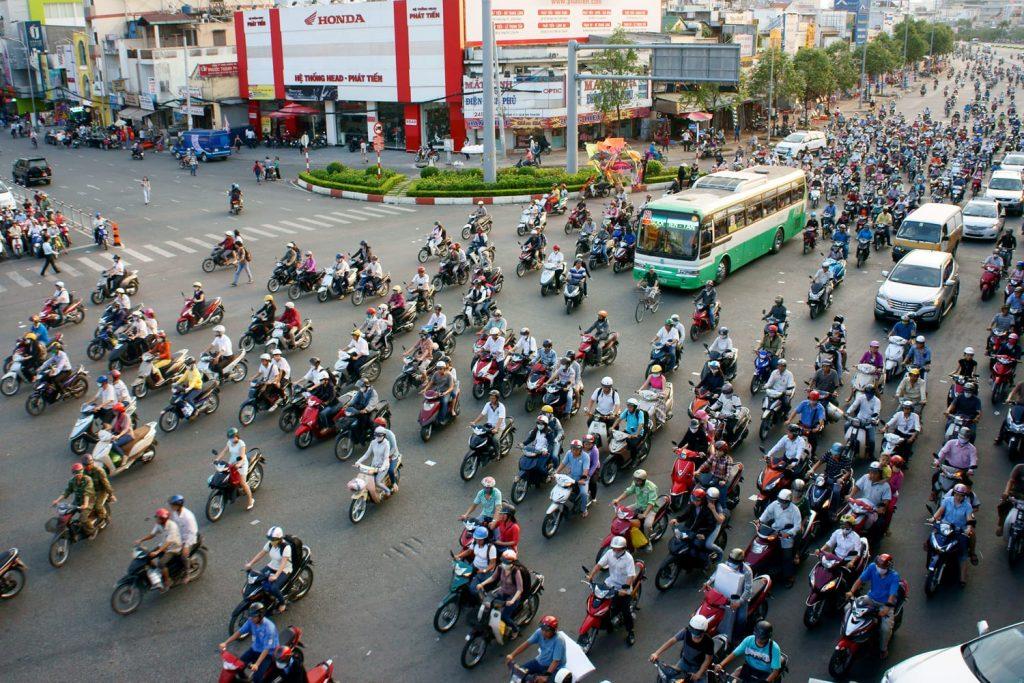 Ho Chi Minh City in Vietnam