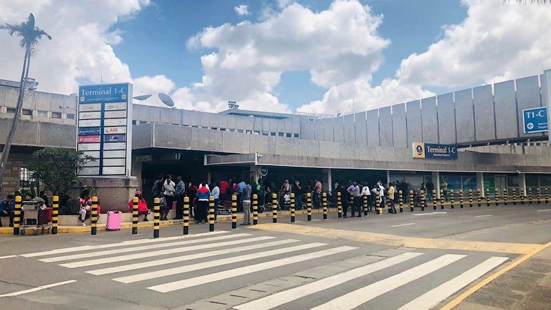 Nairobi Airport in Kenya