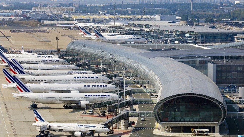 Paris CDG Airport in Europe