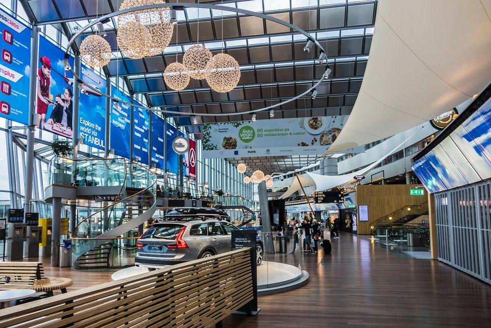 Stockholm Arlanda Airport Sweden