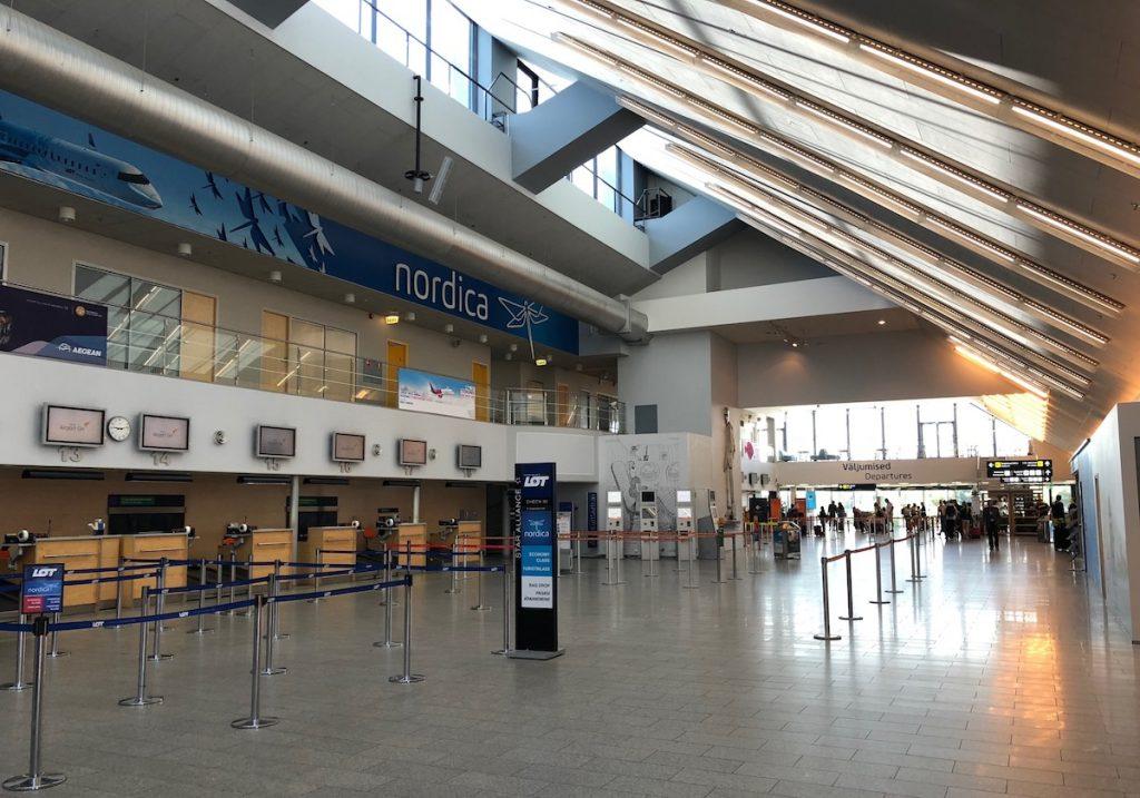 Tallin Airport in Estonia
