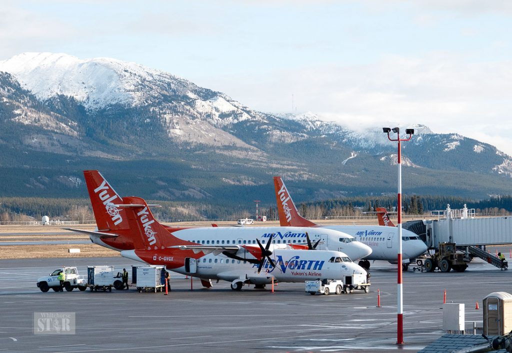 Whitehorse International Airport in Yukon - Canada