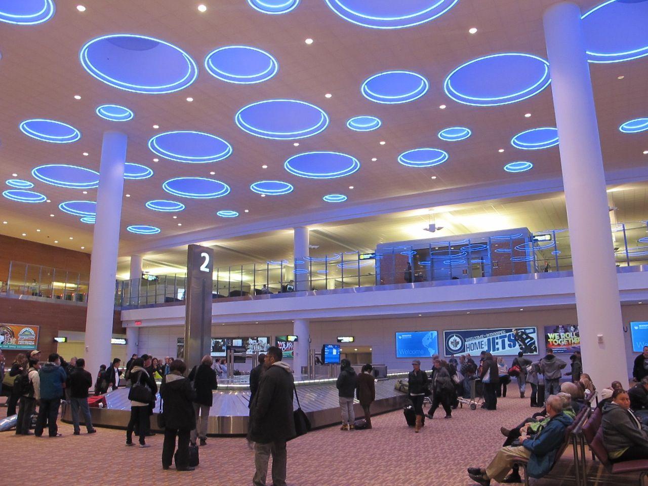 Winnipeg Manitoba airportt